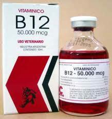 VITAMINICO B 12 50.000 FCO. X 50 ML.