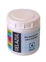 GEL AZUL FRICCIONES POTE X 250 GRS.