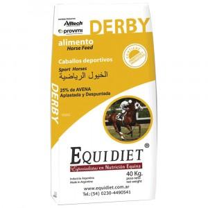 EQUIDIET DERBY BOLSA X 25 KGS