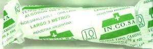 VENDAS CAMBRIC X 10 CM